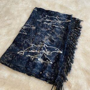 New Tie-dye Dolphin Sarong